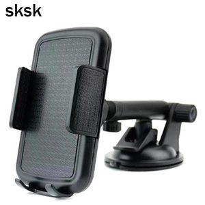 SKSK Car Phone Holder Car for iPhone 360 Degree Rotating Dashboard Universal Adjustable Windshield Car Mobile Holder for Samsung