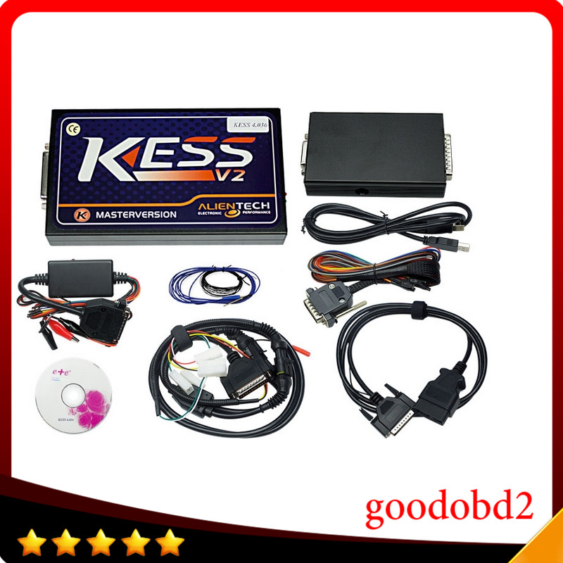 Car programmer tools KESS V2 V2.22 OBD2 Manager Tuning Kit HW V4.036 No Tokens Limited Master Version KESS V2 ECU chip tool цена