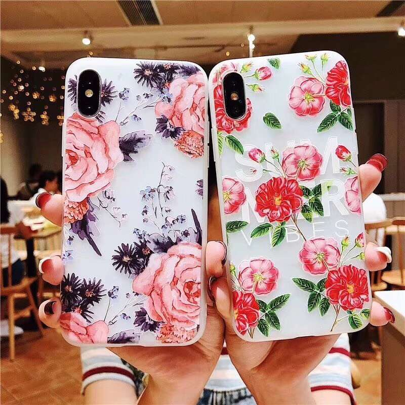 Persevering Trodino Flower Florals Silicone Case For Mate 10 Lite Nova 2i 3i Rose Soft Tpu Cases On Honor 10 V10 9i For Huawei P Mart Plus Strong Packing Back To Search Resultscellphones & Telecommunications