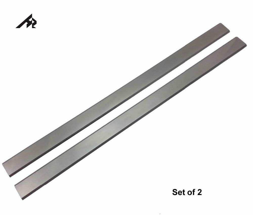 HZ 12.5 Portable HSS Rabot couteau lames Delta 22-540 Remplace 22-547, Jet, artisan, Fret Portuaire Bois Raboteuse-Lot de 2