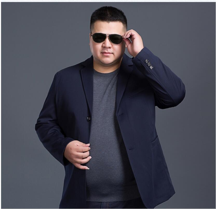 Suit Jacket Men Blazer Plus-Size Fashion Casual Single-Breasted 7xl 8xl Young XL-6XL