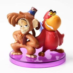 Image 5 - Hoàng Tử Sjasmine Hình Đồ Chơi Ác Khỉ Hổ Aladdin Và Cây Anh Đèn Nhựa PVC Đồ Chơi Mô Hình Búp Bê