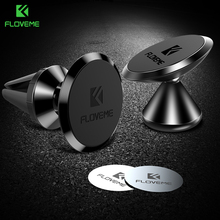 FLOVEME Universal Magnetic Car Phone Holder 360 Rotation Bracket Phone Stand For iPhone Samsung S9 Xiaomi Air Vent Magnet Holder