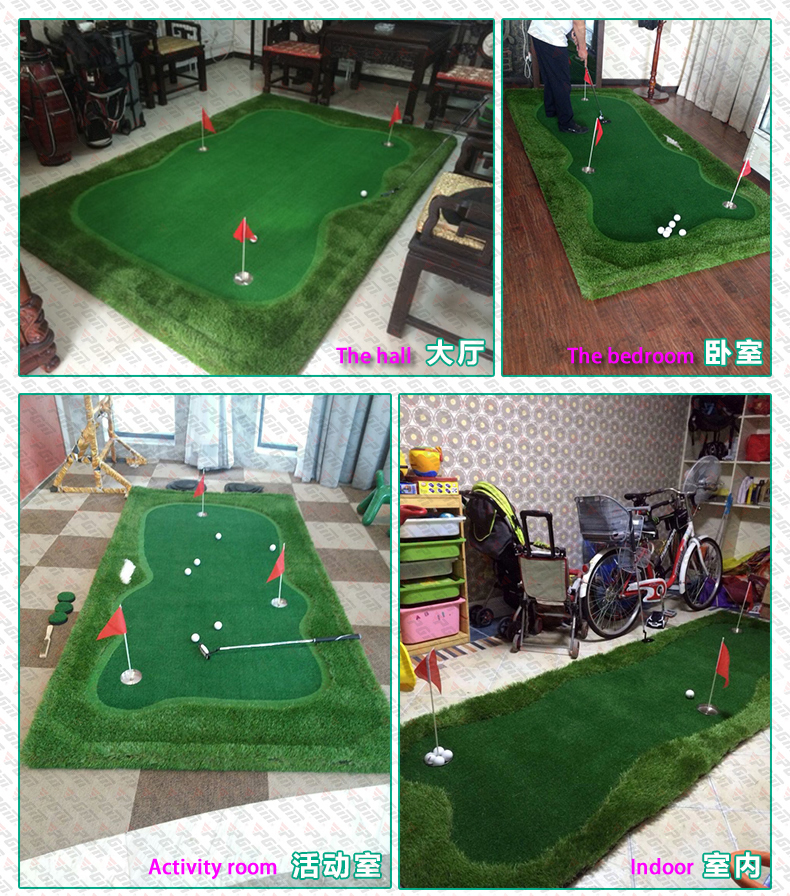 Free shipping golf simulator PGM indoor/outdoor Golf putting green ...