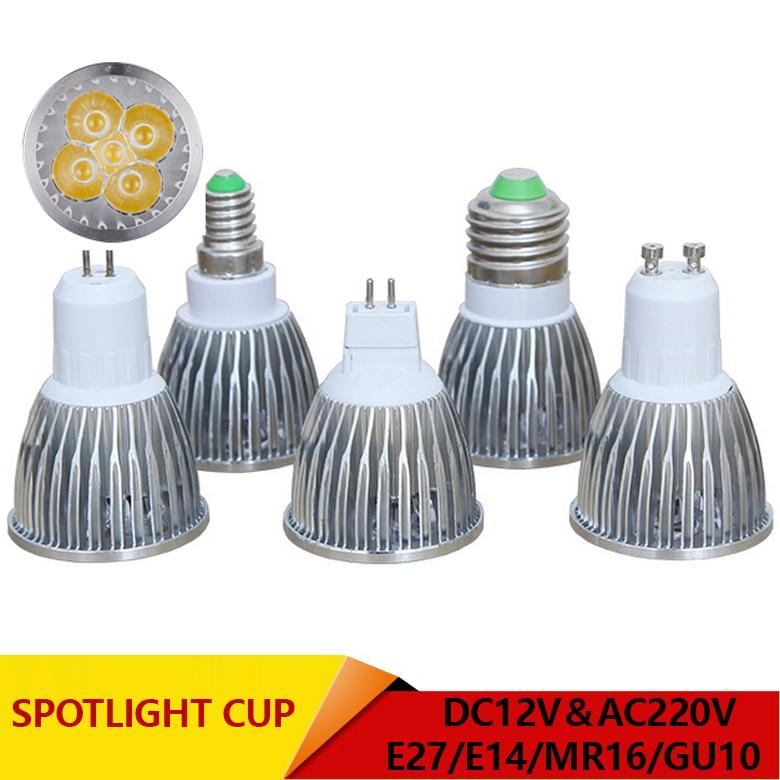 Led Bulbs & Tubes Light Bulbs Super Bright 6w 9w 12w 15w Gu10 Cob Led Bulbs Light 220v Dimmable Led Spotlights Warm/cool White Gu 10 Base Led Downlight