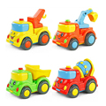 Город строительство серии детских toys mini автомобиля смайлик ребенок грузовик назад автомобиль Трение автомобилей WJ125