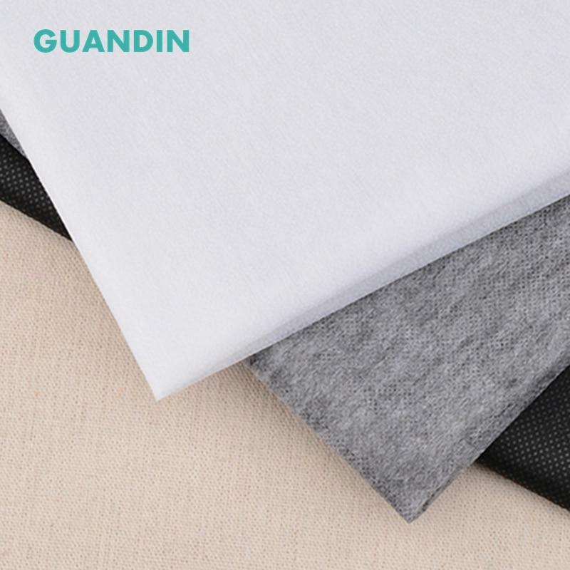 1M 280g Cotton Batting Lining with Single Glue Handmade Interlining Cotton