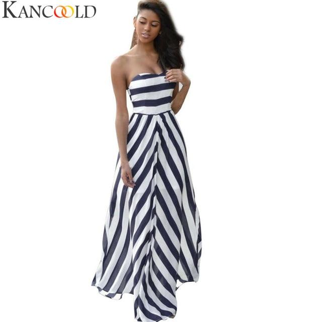 e2c9a68eb61 KANCOOLD women s dress Vintage sexy dress Boho summer dresses 2018 beach  Long Maxi Evening Party Dress