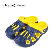 DreamShining Top Qualität Neue Ankunft männer Sandalen Marke Lässig Flip-Flops Herren Sommer Außen Strand Hausschuhe Schuhe