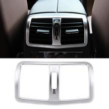 Автомобиль Кондиционер Vent Выход Обложка отделка подлокотник коробка сзади для Mercedes Benz E Class W212 2012 2013 2014 2015 стильные чехлы для автомобиля