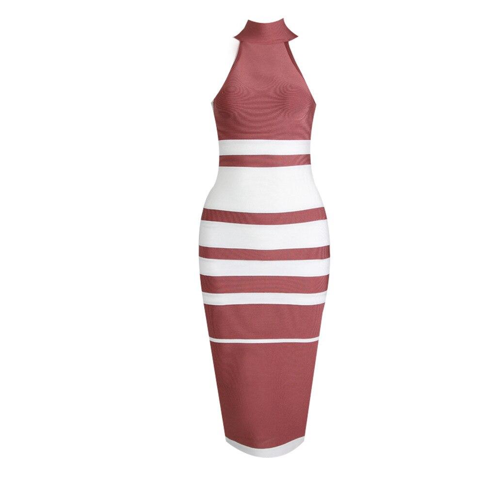 De Bandage Con Gros En Pink Spéciale Nu Offre Celebrity Femmes Mode Corps Robe Sexy Apricot Fête Club Halter Night Dos 1vw6T