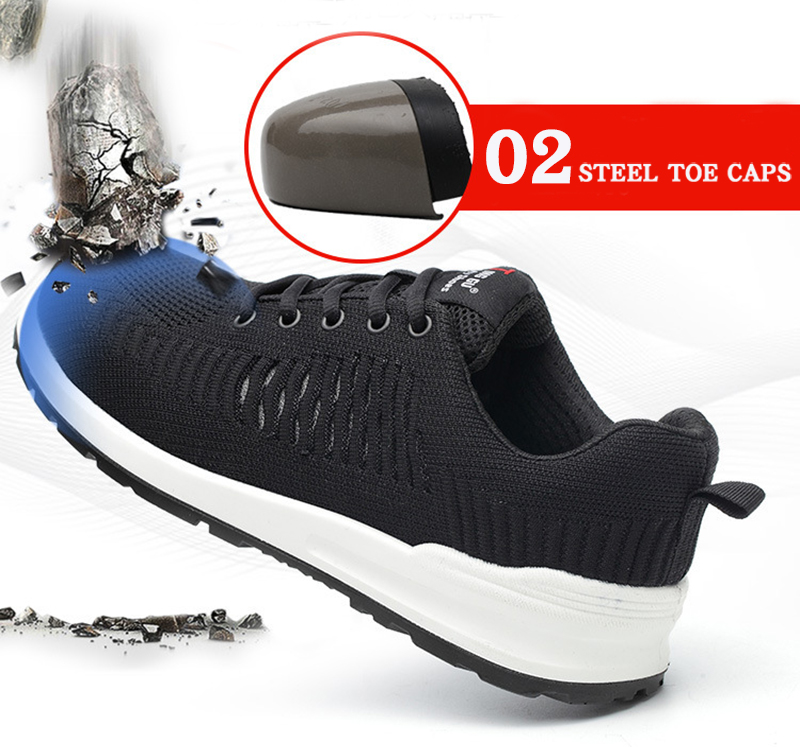 New-exhibition-Flying-mesh-Breathable-Steel-Toe-Cap-Safety-Shoes-Men-anti-pierce-Injection-bottom-work-Safety-boots-2019-Sneaker (12)