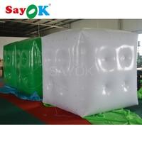 6.56ft (2 м) Реклама гелий куб надувной ПВХ гелий надувной шар «Квадрат»