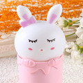 2017 2017 New Creative Colorful Animal Design Cute Rabbit Emotional lamp Baby bedlight