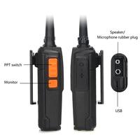 שני הדרך רדיו uhf 2pcs ניו Baofeng BF-C5 פלוס שני הדרך רדיו 5W UHF 400-470MHz מכשיר הקשר Portable 16CH FM משדר CB רדיו Interphone (2)