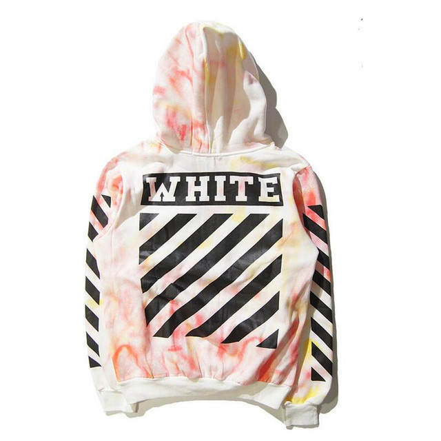 brand men kanye west off white Virgil Abloh pyrex hoodie off white hoodies  print hoody Sweatshirt