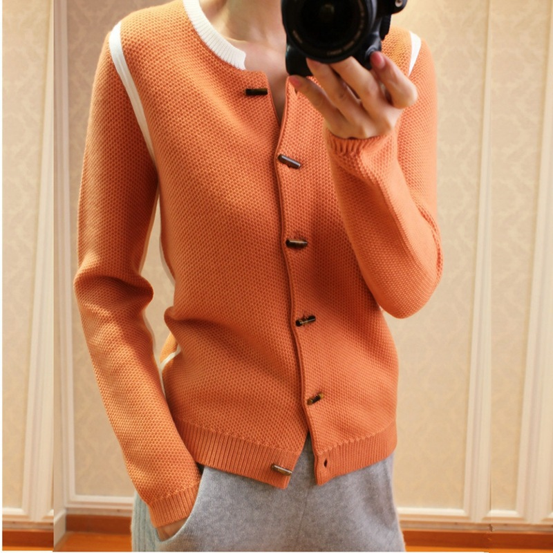 GejasAinyu 2019Autumn Winter New Cardigan Women Sweater Cashmere Sweater Cardigan Fashion Knitting Sweater Women Tops  Pull Coat