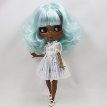 Factory Neo Blythe Doll Mint White Hair Jointed Body 30cm