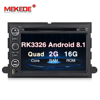 Quad core PX3 Android 8.1 Car DVD radio Player For Ford Fusion Expedition F150 F250 F500 Escape Edge Mustang free shipping