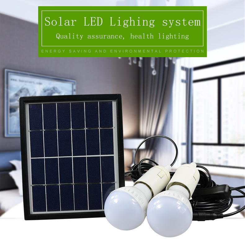 outdoor solar led lighting systems. portable led outdoor solar lights system kit waterproof 2 bulbs mobile phone power bank rechargable battery camping lighting-in lamps from led lighting systems