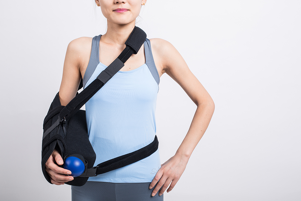 ФОТО  LJ-202 Humeral Abduction orthosisComposite sponge pillow fixed shoulder joint outside booth