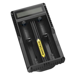 Image 2 - Nitecore cargador de batería inteligente UM20, Original, con pantalla LCD, alimentación USB Universal, batería de ion de litio