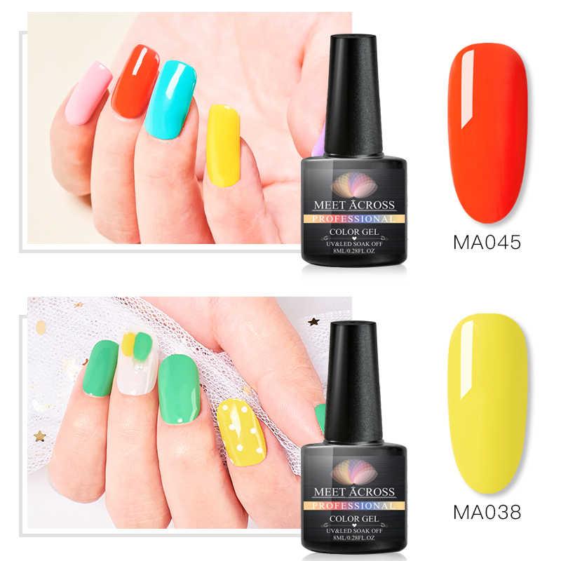 Esmalte de uñas de Gel para manicura Semi Uv y esmaltes permanentes Led puro brillo para uñas gel de esmaltes