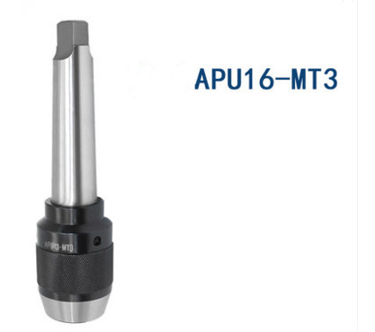 MT3 APU16 integrated keyless drill chuck tang type clamping rang 1 16mm best quality in China