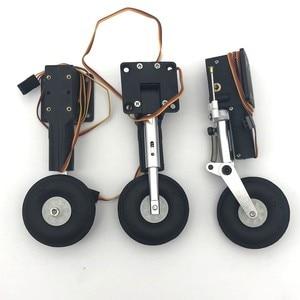 Image 1 - מתכת לחזור חשמלי הלם נספג נחיתה CNC DIY עבור rc מטוס דגם
