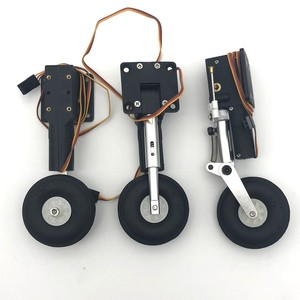 Image 1 - Metal electric retract shock absorbed landing gear CNC DIY for rc plane model