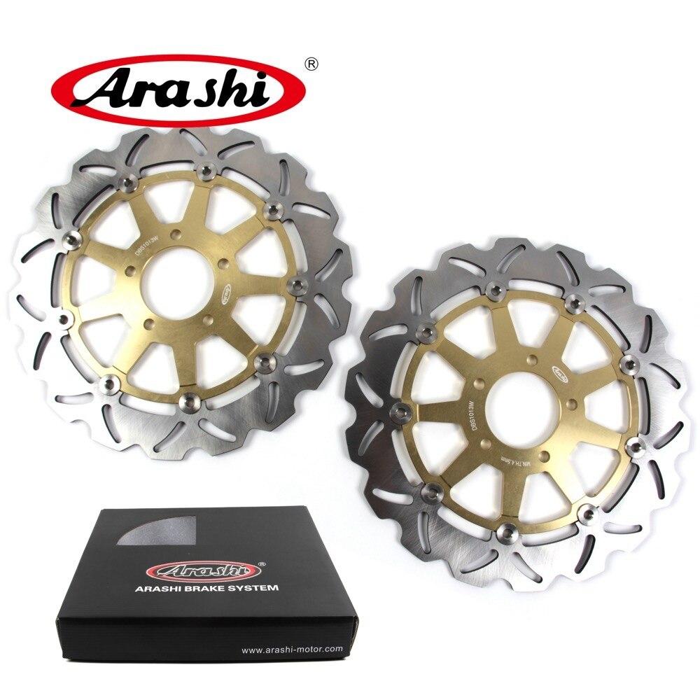 Arashi 1 paia Per SUZUKI GSX R 1000 2001 2002 CNC Freno Anteriore Freno A Disco Rotori GSX1000R GSXR1000 GSXR 600 750 1000 TLR1000