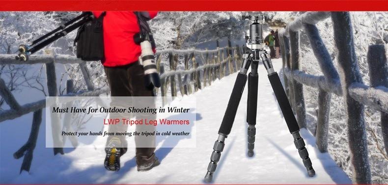SUNWAYFOTO LWP Professional Tripod  Accessories Neoprene Leg Warmer Grip