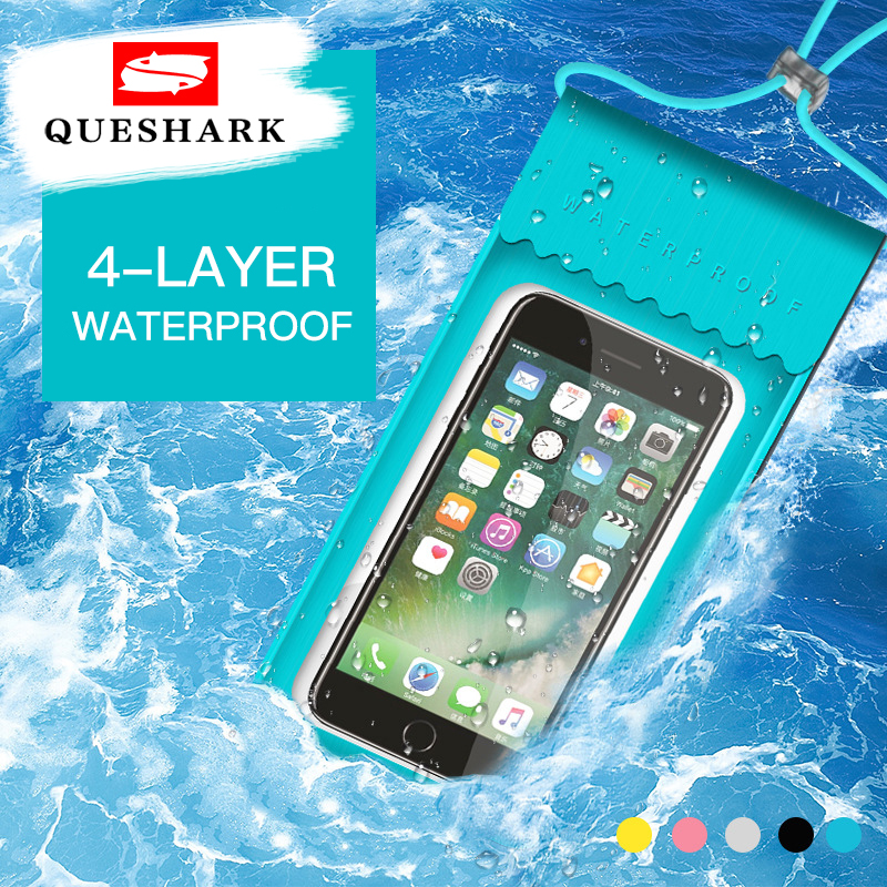 Waterproof Swimming Bag Phone Pouch Cover Mobile Case Beach Outdoor Swimming Pool Diving Snorkeling Bag For Mobile Phone