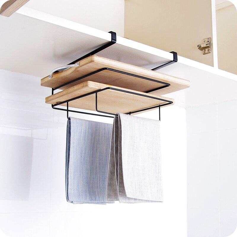 Merveilleux Black/White Iron Shelf Multifunctional Cutting Board Storage Cabinet  Hanging Holder Cupboards Rack Organizer Kitchen Accessories In Storage  Holders U0026 Racks ...