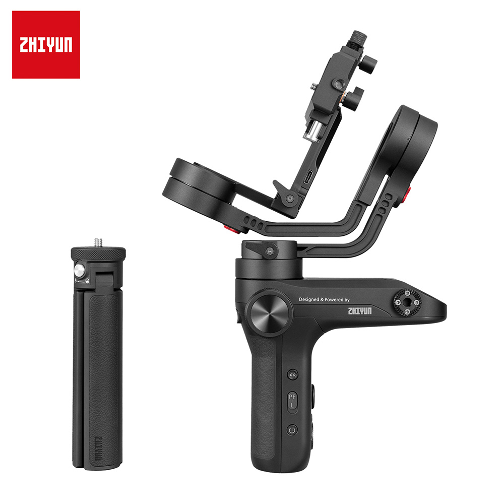URRNDD PT-3 Triple Hot Shoe Stabilizer Aluminium Alloy Mount Extension Bracket for Gimbal Microphone Camera Black