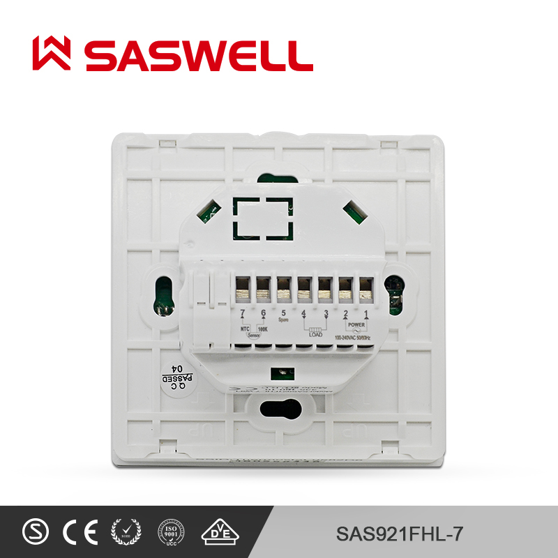 SASWELL smart Thermoregulator thermostat electric heating thermostat system temperature room Intelligent thermostat in Smart Temperature Control System from Home Improvement