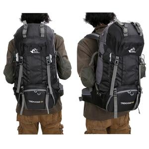 Image 3 - Mochila De Montañismo al aire libre de 50L/60L, bolsa de escalada para acampar, senderismo, viaje, bolsa de deporte, Molle, escalada