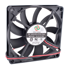 COOLING REVOLUTION PL81S12M 8cm 8015 80mm fan 12V 0.10A 2-wire 3Pin Computer CPU Chassis Power Ultra-quiet Cooling Fan