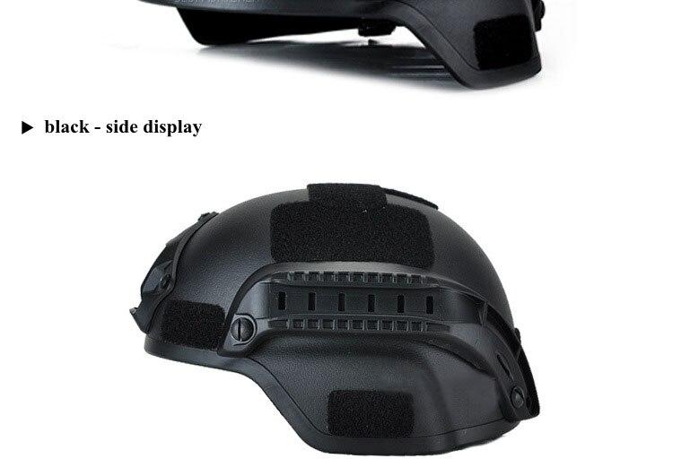 capacetes cabeça de proteção com visão noturna