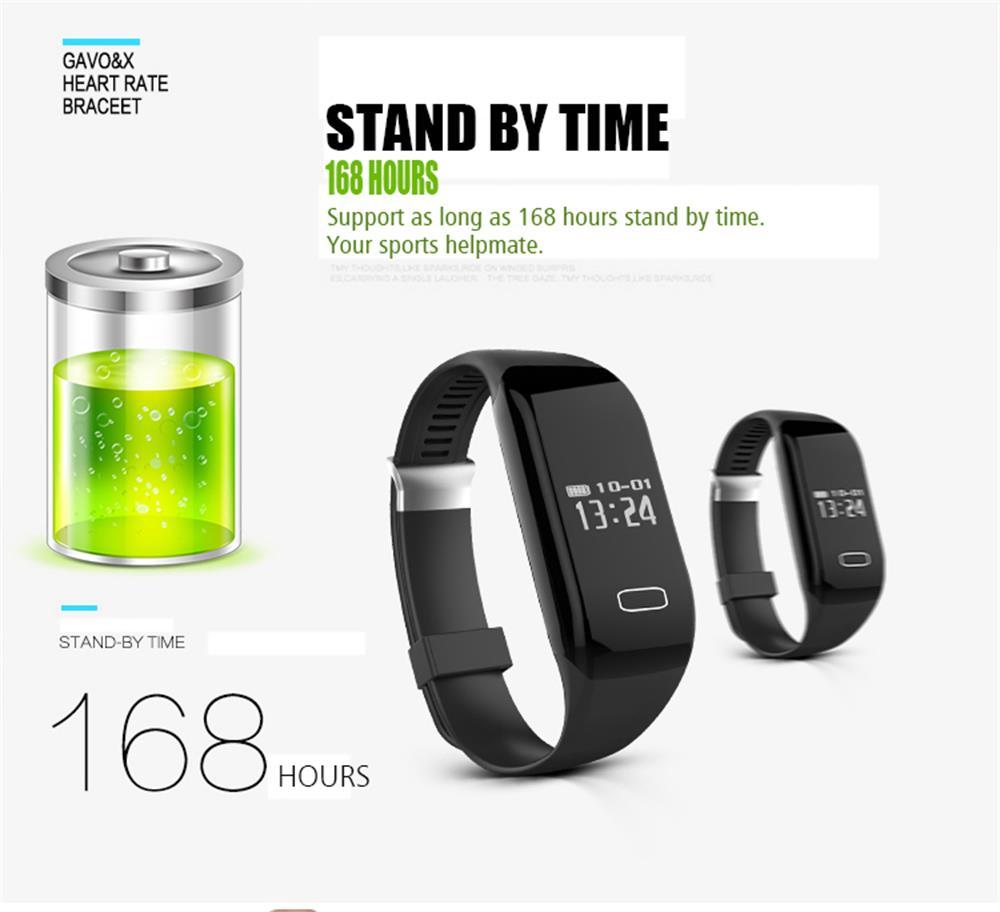 MOCRUX Smart Wristband Bracelet H3 Smartband IP68 Waterproof Heart Rate Monitor FitnessActivity Tracker Smart Watch Call Alarm  (10)