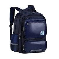 2019 new Waterproof PU Leather backpacks Children School Bags Girls Boy Primary Students school Backpack Schoolbag Kids satchel