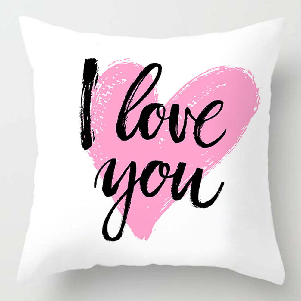 Pillow Cover Black Square Fuck Compass Pattern Throw Pillow Case Sofa Cushion Cover Home Kitchen Bedding