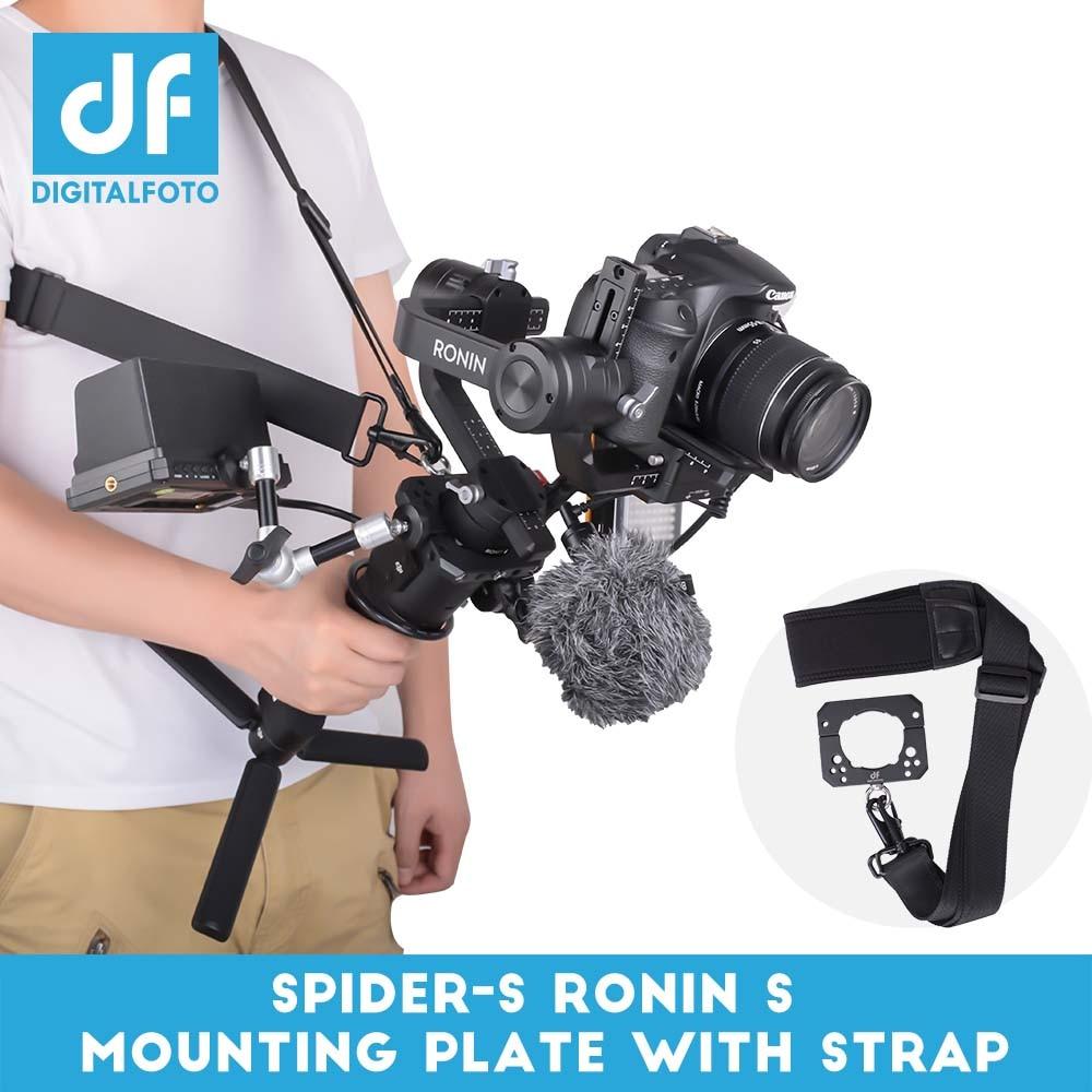 DIGITALFOTO Araignée Moniteur Montage sangle De Fixation Accessoires Plaque Pince compitable pour DJI Ronin S ZHIYUN Grue 2 3 axe Cardan