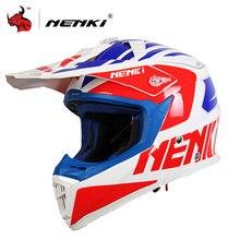 NENKI Мужская мотокросс шлем off road Профессиональный ралли гонки шлемы мужчины мотоциклетный шлем анфас Гонки шлем