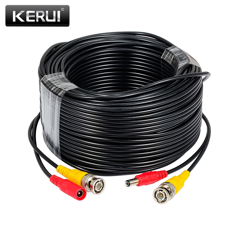 15m BNC CCTV Video 32ft Cable For Analog AHD Security Surveillance Camera DVR Connector Cable
