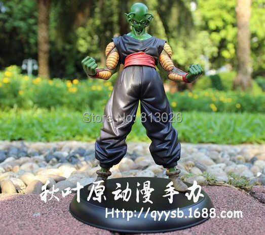 2 pçs/set Dragon Ball Z Goku Piccolo Action Figure coleção PVC figuras brinquedos brinquedos com caixa