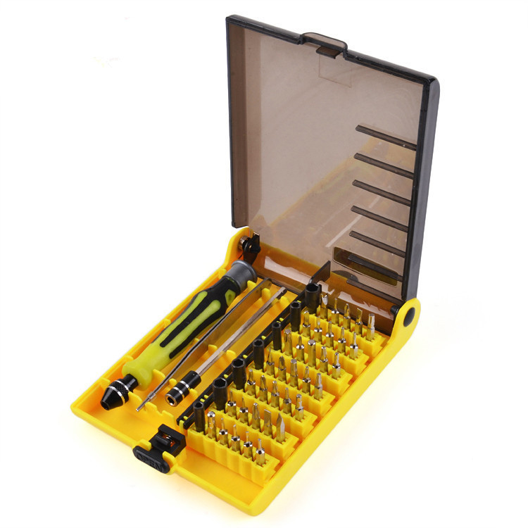 45pcs screwdriver tool set precision multi function multi function electron toys. Black Bedroom Furniture Sets. Home Design Ideas