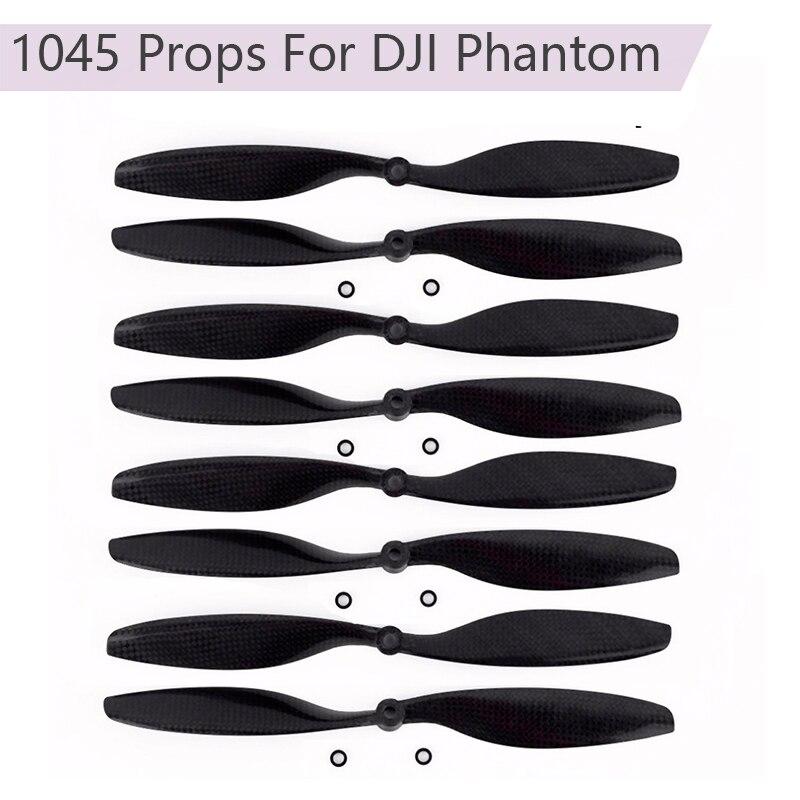 Carbon Fiber Propeller CW CCW 1045 Props For DJI Phantom 10x4.5 Quadcopter Motor accessries Drone