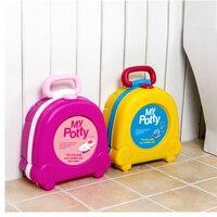 Baby Toilet Cute Cartoon Baby Potty Portable Travel Cars Child Potty Chair Training Girls Boy Kids Toilet Seat Children's Pot WC