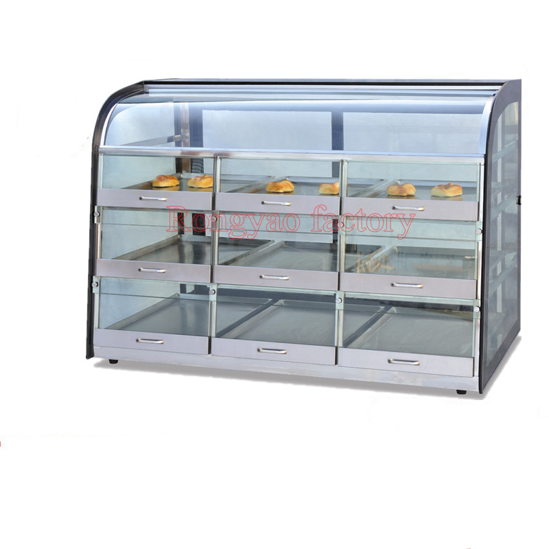 RY-ND-1380 Commercial Keep Heat Cabinet  Fresh Cabinets Cake Cabinet